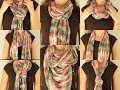8 ways to: wear a scarf|LIV