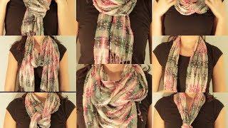 8 ways to: wear a scarf|LIV