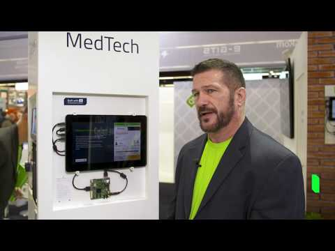 Medical demo created with Qt Design Studio running Qt Safe Renderer on Integrity RTOS {showcase}