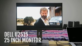 dell U2515 25 inch monitor Unboxing Video Test And Quick Review