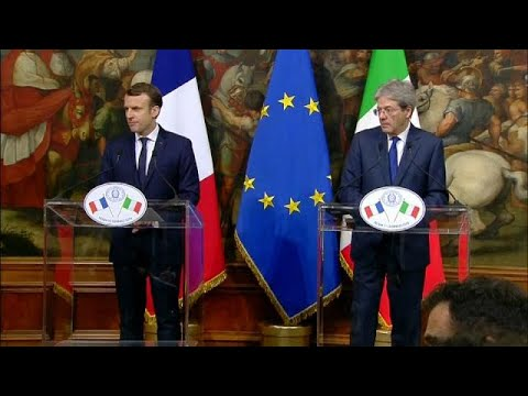 Italy and France urge Europe to increase efforts to ease migrant crisis
