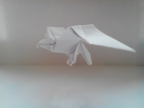 Оригами орел (Origami eagle) -