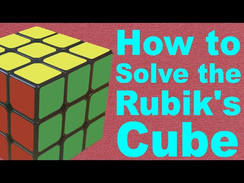 How to Solve a Rubik's Cube (v3)