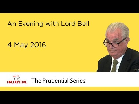 An Evening with Lord Bell