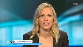 Interview Lara Dickenmann