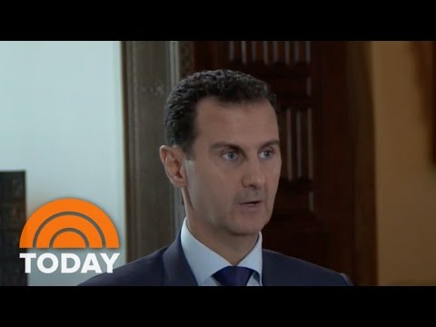 Syrian President Bashar Al-Assad: I Would Warn US Of ISIS Attack | TODAY