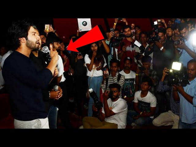 Varun Dhawan MEETS Fans After October Screening At PVR Theatre