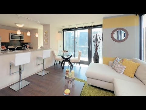 Tour A Large One-bedroom At The Iconic Aqua Apartment Tower