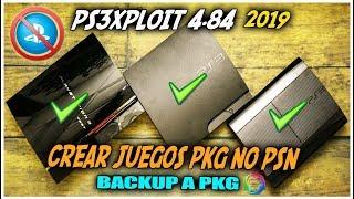 PS3Xploit 4.84 OFW Crear/Convertir Juegos PKG No HAN   2019