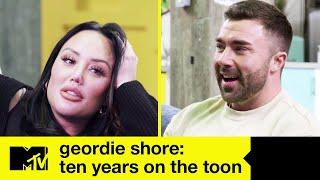 Geordie Shore Speciale 10 anni: Charlotte, Nathan e James ricordano la rissa tra Gaz e Ricci