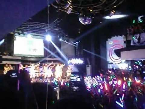 JKT48 - Overture + Heavy Rotation @Jogja - Liquid Cafe
