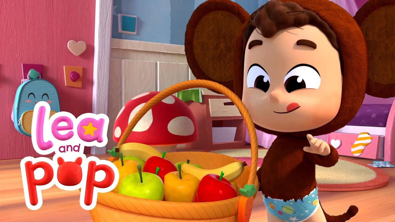 The Best Breakfast Nursery Rhymes for KIDS | Apples and Bananas | Baby Songs with Lea and Pop