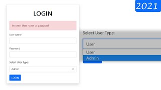 Multi User Role Based Login System Using Bootstrap 5, PHP & MySQL