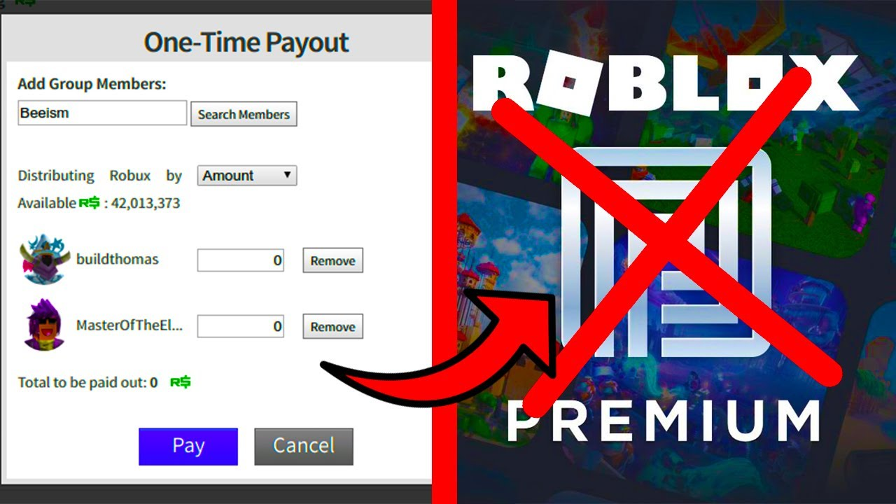 Easy Ways To Get Robux Without Paying How To Send Your Friends Robux Without Premium Roblox Youtube