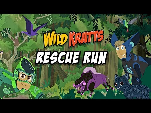 Wild Kratts Rescue Run - Kids learn about animals 🐅 PBS Kids Game App