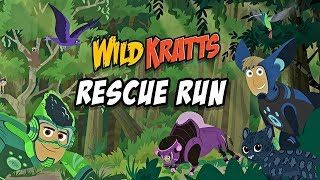 Wild Kratts Rescue Run Kids Learn About Animals PBS Kids Game App