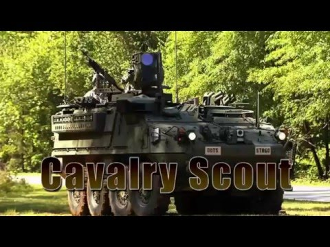 19D Cavalry Scout - YouTube