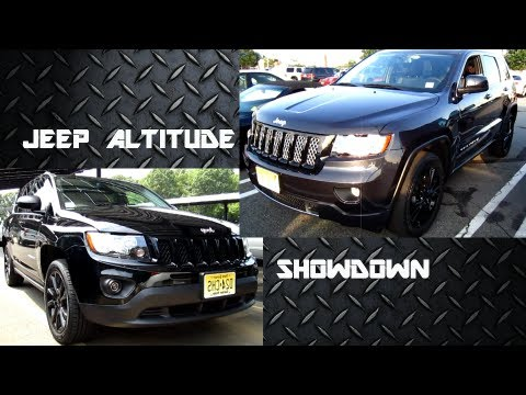 jeep grand cherokee vs jeep compas altitude edition. Black Bedroom Furniture Sets. Home Design Ideas