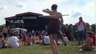 Hula Hooping | Bonnaroo 2012 | The Temper Trap | Drum Song