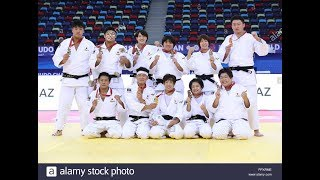 JUDO FOR THE WORLD 2018 BAKU WORLD TEAM CHAMPIONSHIPS