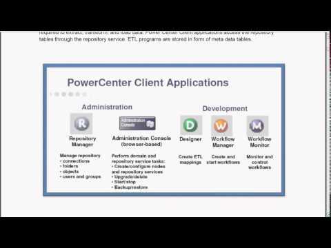 Informatica Overview, #Informatica, #powercenter
