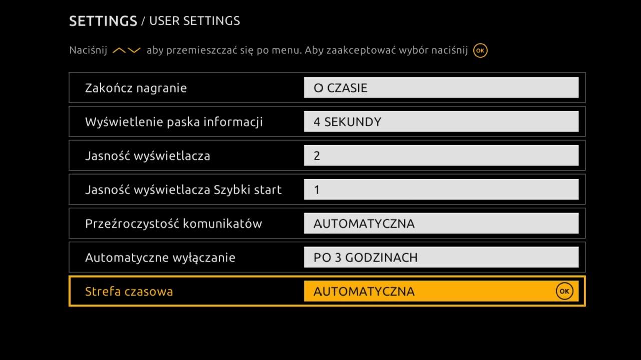 Telewizja Na Karte Polsat.Cyfrowy Polsat Menu Ustawienia W Dekoderach Hd