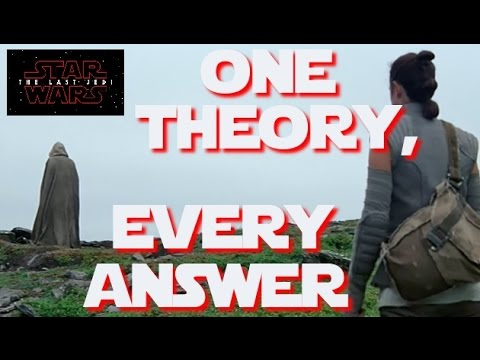 Thumbnail: The one simple theory to explain everything (Rey, Snoke, Luke, Kylo Ren and more)
