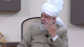 Gulshan-e-Waqf-e-Nau UK Atfal - 8th December 2013 with Hazrat Mirza Masror Ahmad