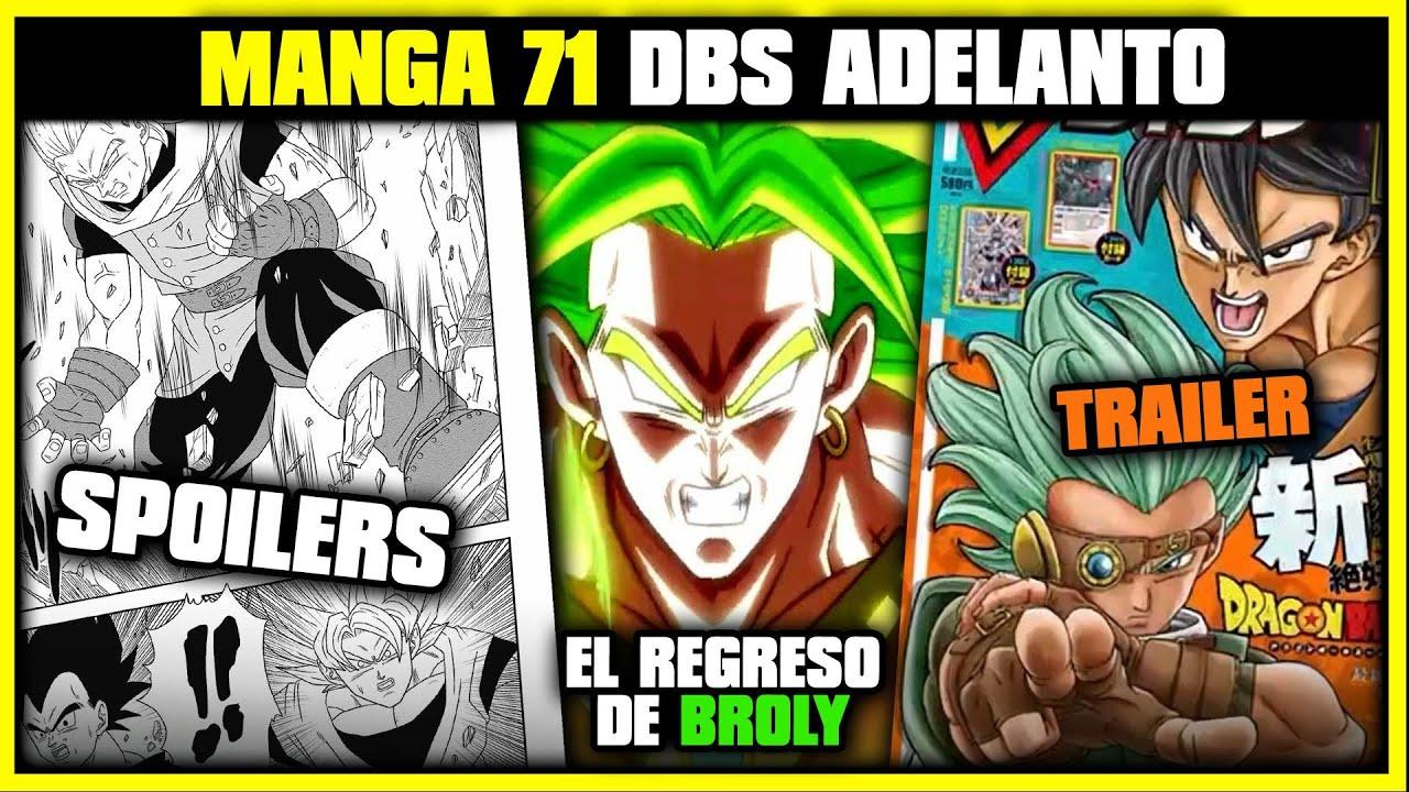 Download DRAGON BALL SUPER MANGA 71 | NUEVO TRAILER Y SPOILERS | BROLY REGRESA DBH | ANZU361