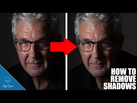 How to Remove Unwanted Shadows: PHOTOSHOP #84