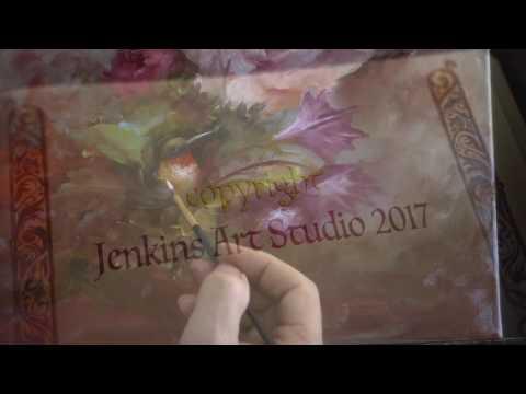 Rose with Hummingbird Your host Gary Jenkins