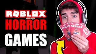 🔴ROBLOX HORROR GAMES! | ROBUX GIVEAWAY! | Roblox Livestream!