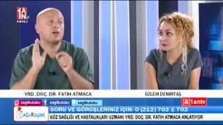 Sağlık Kulübü programında Yrd. Doç. Dr. Fatih ATMACA, Özlem DEMİRTAŞ'ın konuğuydu...