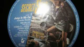 Jump In My Car - Secret Star 1985 euro disco
