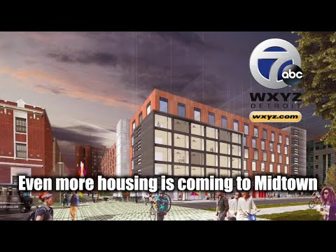 $32M in development coming to Midtown Detroit