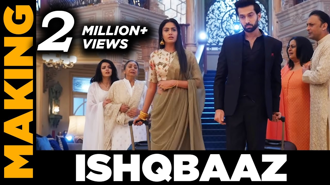 Ishqbaaz | Shivaay and Anika leave home | Behind the scenes on location | Screen Journal #1