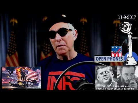 Roger Stone Discusses JFK New Information, Open Phones & Viewer Calls, News & Current Events