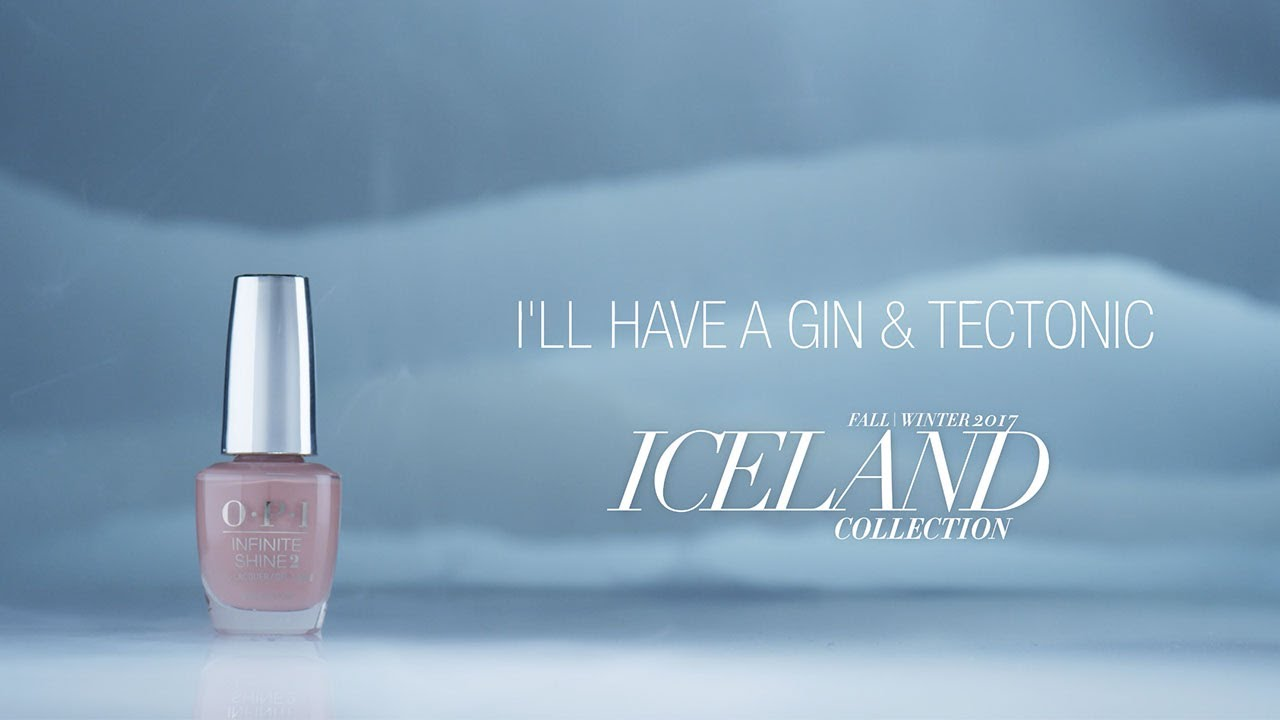 Video:OPI Iceland Shade Story | I'll Have a Gin & Tectonic