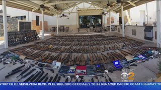 Hundreds Of Guns, Rifles Seized From Agua Dulce Home Of Felon