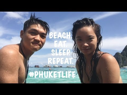 3 Days in Phuket, Thailand Vlog (2017) Sharon & Uzen