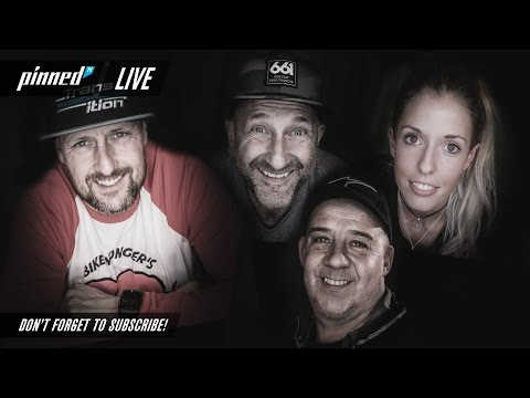 Live show, guests Meg Whyte & Leon Rosser (internet issues!) Win some Swag