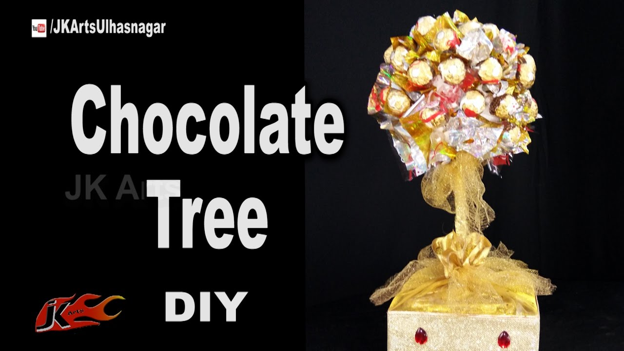 d15eabec3c162 How to Make a Ferrero Rocher Chocolate Tree