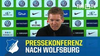 Die Pressekonferenz nach dem Bundesligaspiel beim VfL Wolfsburg