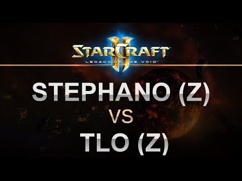 StarCraft 2 - LOTV 2017 - Stephano (Z) v TLO (Z) on Abyssal Reef