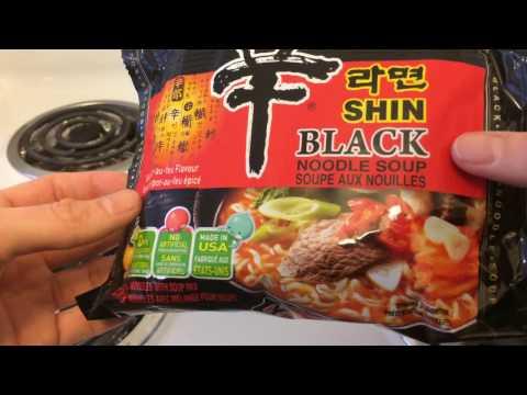 Ramen Review 3- Nongshim Shin Black Noodle Soup