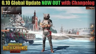 PUBG Mobile 0.10 Global Update OUT NOW!! Vikendi Coming SOON! | Patch Notes with DerekG