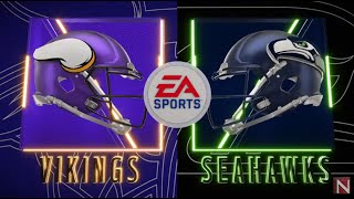 Madden 20 Simulation - Minnesota Vikings vs Seattle Seahawks - Simulation Nation