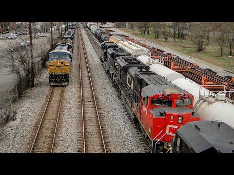 11 RAILROADS and 37 TRAINS!!! Most INSANE Railfanning OF MY LIFE in Birmingham, Alabama!!