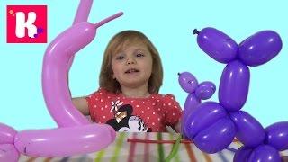 Шарики собачка мышка надуваем распаковка Balloons inflate dog duck(Набор шариков распаковываем, делаем собачку, мышку и лебедя из шариков Set of balloons unboxing make dog, mouse and duck Спасибо,..., 2015-05-25T18:15:53.000Z)