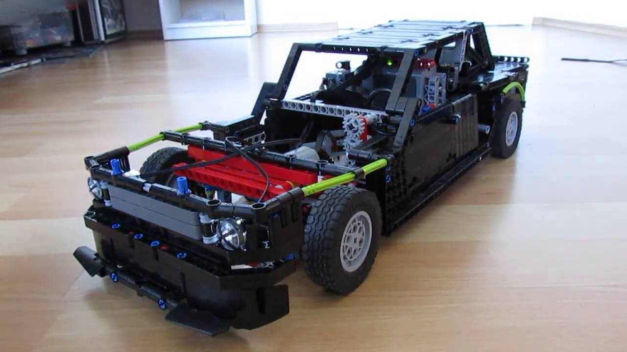 lego technic rc ford mustang 1965 by ken block on. Black Bedroom Furniture Sets. Home Design Ideas